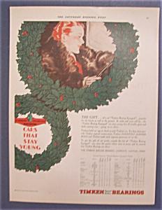 Vintage Ad: 1929  Timken  Bearings (Image1)