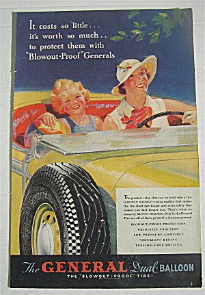 1935 General Dual Balloon Tires w/Woman & Child (Image1)