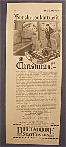 Vintage Ad: 1929  Biltmore  Seat  Covers (Image1)