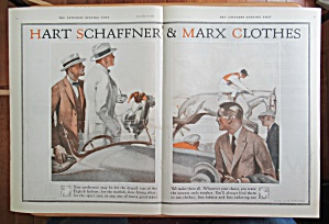 1923 Hart Schaffner & Marx with Men at Race Track  (Image1)