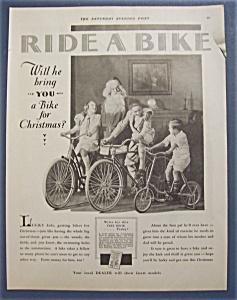 1929 Ride A Bike with Santa Claus & 3 Children on Bikes (Image1)