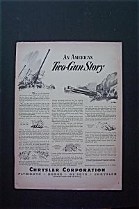 1943 Chrysler Corporation w/American Two-Gun Story (Image1)