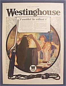 Vintage Ad: 1923  Westinghouse  Electric (Image1)