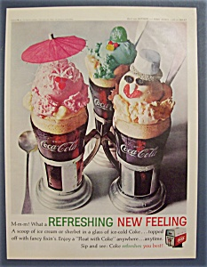 1962 Coca-Cola (Coke) with Couple of Coke Floats (Image1)