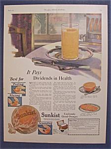 1923  Sunkist  Oranges (Image1)
