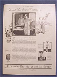 1923  DeBevoise  Brassieres  &  Bandeaux (Image1)