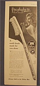 1923  Pro - Phy -Lac - Tic  Tooth  Brush (Image1)