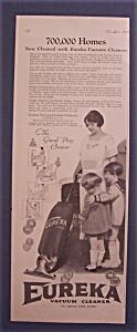 Vintage Ad: 1923 Eureka Vacuum Cleaner (Image1)