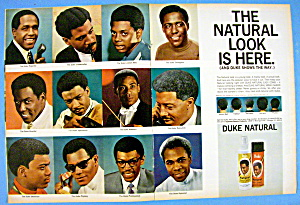 1968 Duke Natural Comb & Sheen With Duke Men