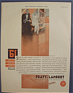 1930  Pratt & Lambert 61 Quick Drying Varnish (Image1)