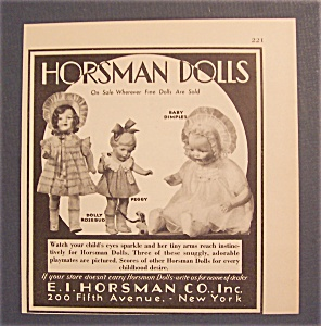 1930 Horsman Dolls with Baby Dimples & More (Image1)