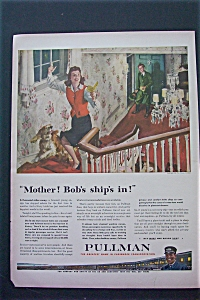 1943 Pullman with Girl Running Up The Stairs (Image1)