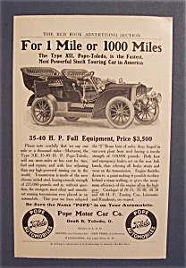 Vintage Ad: 1906 Pope Motor Car Co.