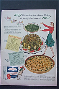 1943 Birds Eye Frosted Food with Peas & Celery  (Image1)