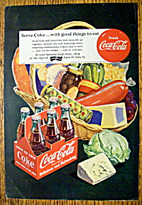 Vintage Ad: 1951 Coca Cola (Coke) (Image1)