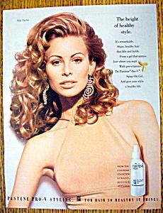 Vintage Ad: 1994 Pantene Pro-V with Niki Taylor (Image1)