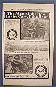 Vintage Ad: 1905 Pope Motor Car Co.