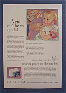 1931 Ivory Soap with Baby's Chin Being Touched (Image1)