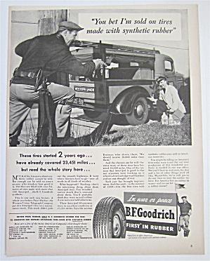 1943 B. F. Goodrich Tires with Men Talking  (Image1)