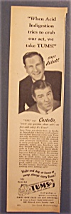 1948 Tums With Bud Abbott & Lou Costello (Image1)
