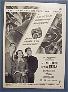 1948 Movie Ad For The Miracle Of The Bells (Image1)