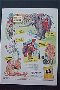 1943 Ethyl Corporation With A Great Circus