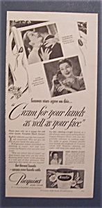 1948 Pacquins Hand Cream W/ Lawrence & Fontanne