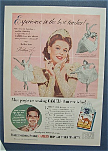 1948 Camel Cigarettes with Kathryn Lee (Image1)