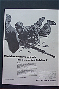 1943 Every Civilian A Fighter w/ Soldier on the Ground (Image1)