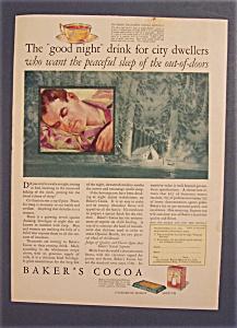 1928  Baker's  Cocoa (Image1)