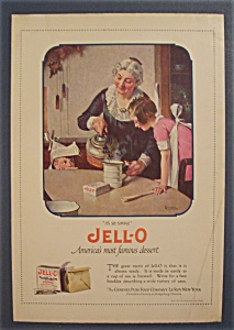 1923 Jell O Dessert Ad By Norman Rockwell (Image1)