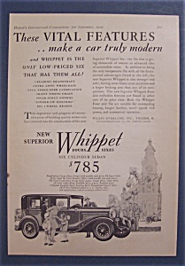 Vintage Ad: 1929 Whippet