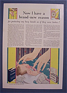 1930 Ivory Soap with Baby Sleeping in Crib (Image1)