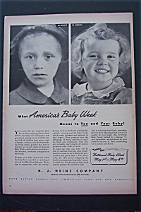 1943 H.J. Heinz Company with 2 Little Girls  (Image1)