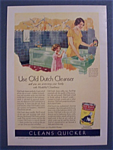 1930 Old Dutch Cleanser