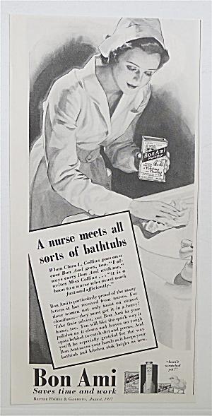 1937 Bon Ami with Nurse Cleaning Bathtubs (Image1)