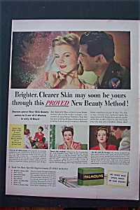 1943 Palmolive Bar Soap with Woman & Soldier  (Image1)