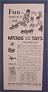 1930  Arcade Cast Iron Toys (Image1)