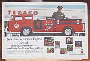 1962 Texaco with Texaco Toy Fire Engine  (Image1)