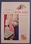 Click here to enlarge image and see more about item 10003: Vintage Ad: 1931 Bon Ami