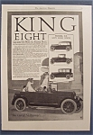 Vintage Ad: 1917  King  Eight