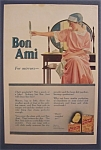 Vintage Ad: 1917 Bon Ami
