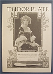 Click here to enlarge image and see more about item 10019: 1923 Tudor Plate with Marion Davies