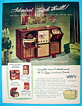 1948 Admiral Triple Thrill w/Phonograph, Radio & TV