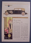 Click here to enlarge image and see more about item 10029: Vintage Ad: 1930  La  Salle