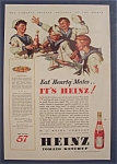 Click here to enlarge image and see more about item 10033: Vintage Ad: 1932 Heinz Tomato Ketchup