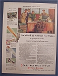 Click here to enlarge image and see more about item 10053: Vintage Ad: 1930 Sears, Roebuck & Co. Retail Stores