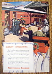Vintage Ad: 1948 Pennsylvania Railroad