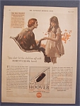 1930 Hoover Vacuum Cleaner w/Woman Talking to Girl