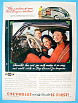Click here to enlarge image and see more about item 10065: Vintage Ad: 1948 Chevrolet
